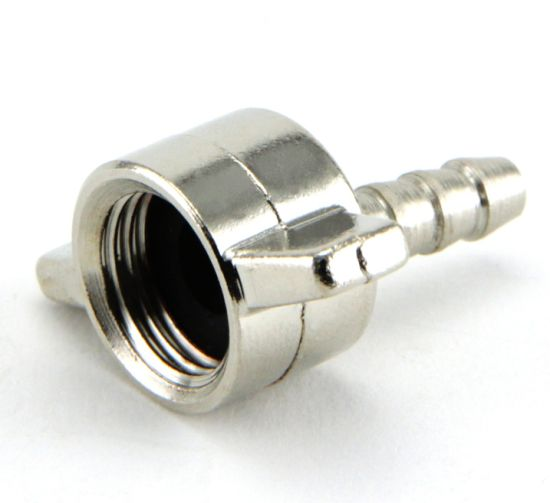 M16X0.5 Truck Tyre Inflation Connector, Metal Swivel Wing Nut Butterfly Nut for 8mm Hose