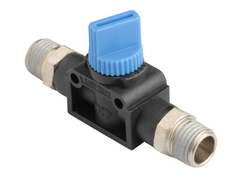 Male Fitting Thread to Thread Hand Valve for Vacuum
