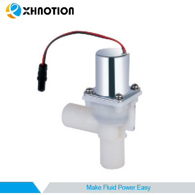 Plastic Male Thread Dia Water Pulse Electric Bi-Stable Solenoid Valve with Ce1674
