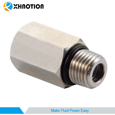 Xhnotion Check Valve Nickel-Plated Brass Fitting Bsp Thread