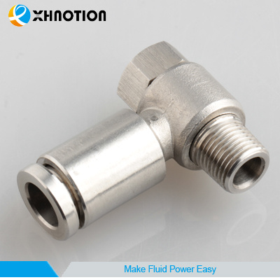 Metal Fitting Stainless Steel Male Run Tee for Air Compressor