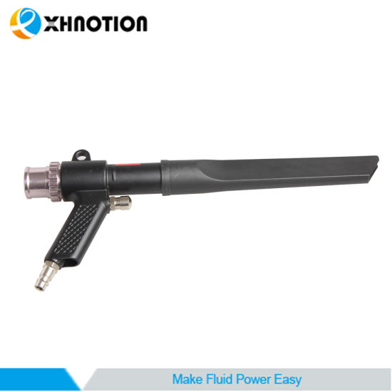 Flat Nozzle Hand Cleaning Tool Pneumatic Suction Blow Gun Supplier