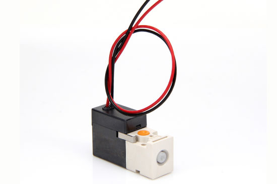 2 Position 3 Way Pilot Mini Solenoid Valve for LED Sorting Machine Supplier